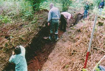Stowe Nine Churches Excavation