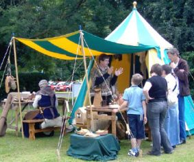 Northamptonshire Archaeology Day demonstrations